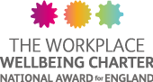 The Workplace Wellbeing Charter National Award for England badge