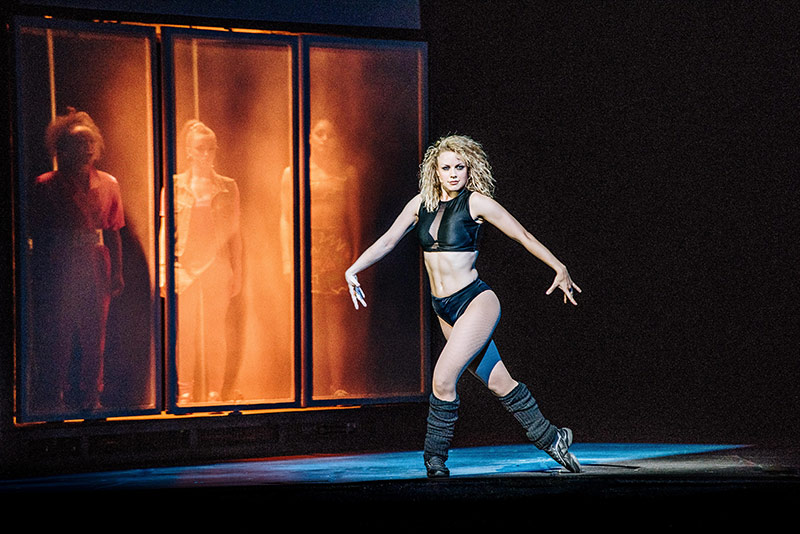 Mayflower theatre southampton flashdance for 1234 get on the dance floor star cast