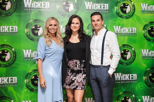 Helen Woolf Amy Ross and Aaron Sidwell